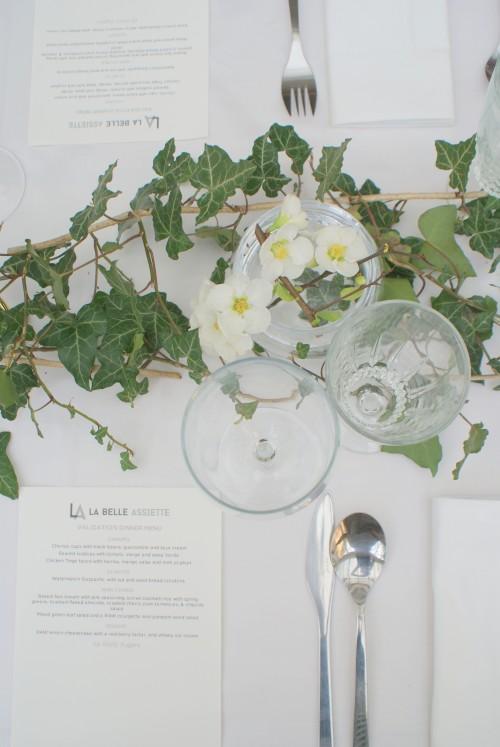 dinner party styling at EDIT - elizabethdanon.co.uk