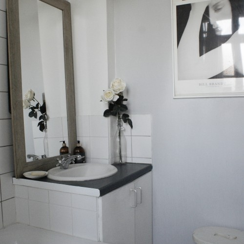 bathroom, edit, minimalist, shower, home, interior design, interiors, top tips