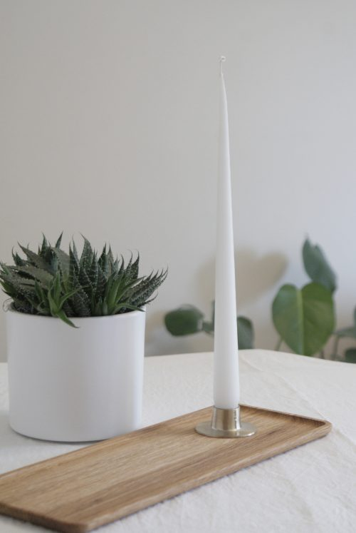 EDIT competition giveaway - Ester and Erik candle holder Iitalla oak tray