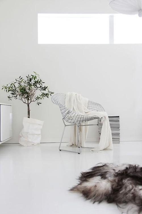 white, interiors, chair, interior design