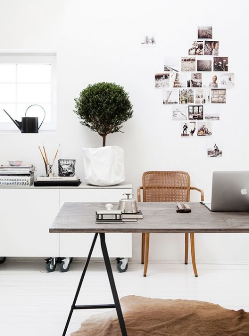 office, home office, interior design, mindful